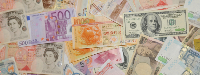 We accept for payment just about any currency you can think of