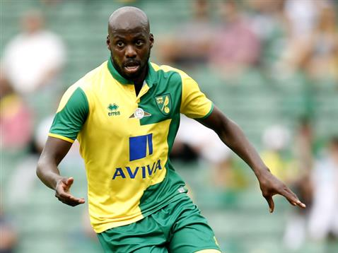 Norwich City's Youssef Mulumbu